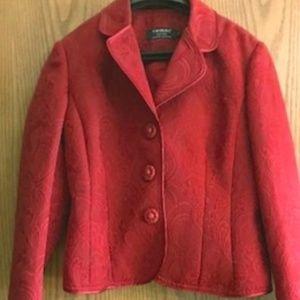 Women's brocade blazer
